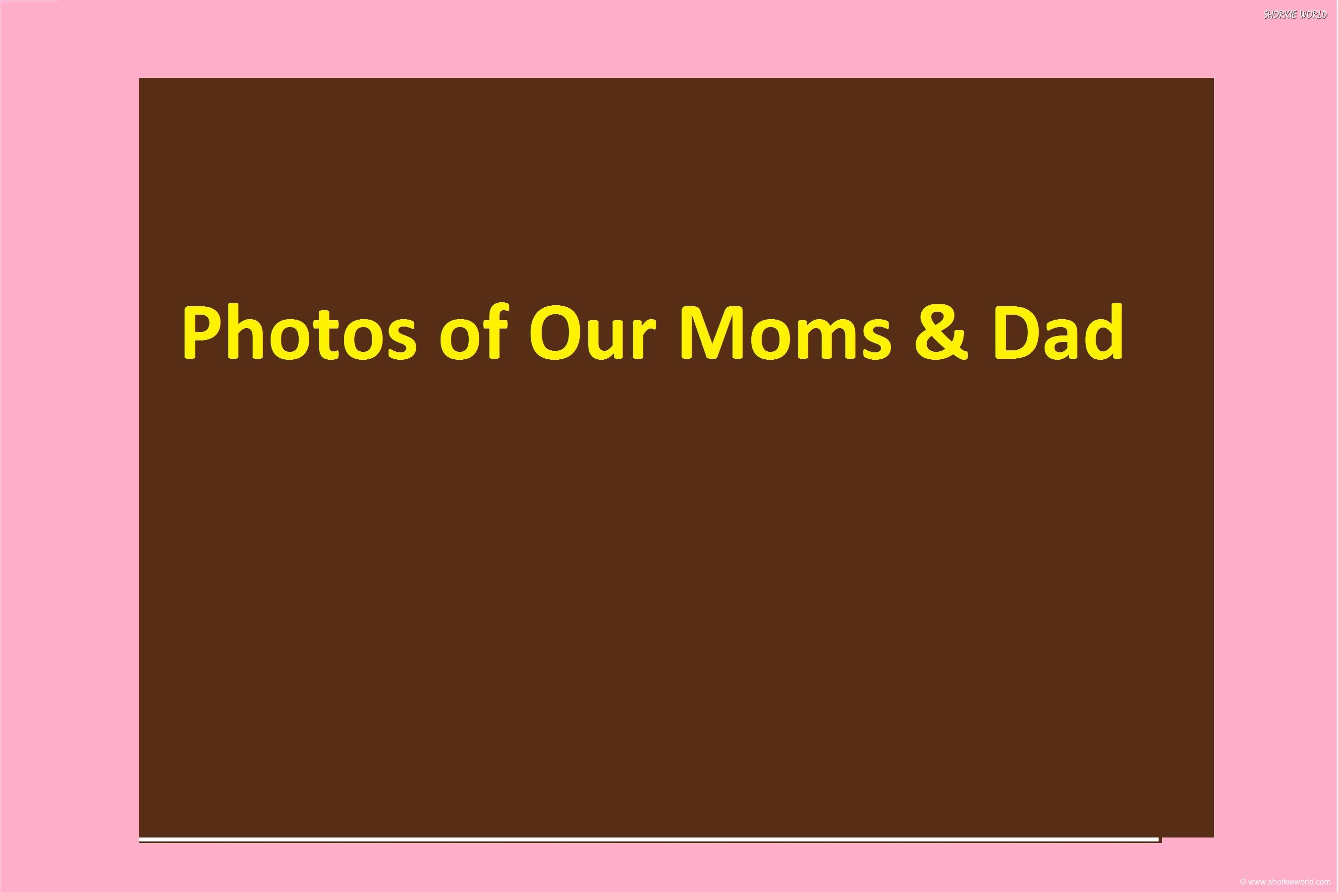 Photos Of our Moms